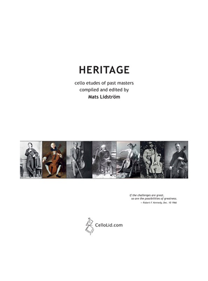 Heritage new cover