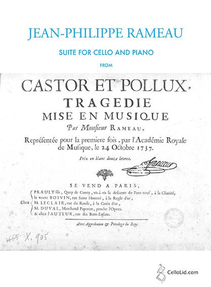 Rameau Suite de Castor et Pollux v4