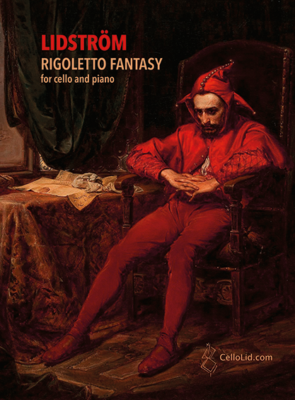 Rigoletto sheet music cover April 11